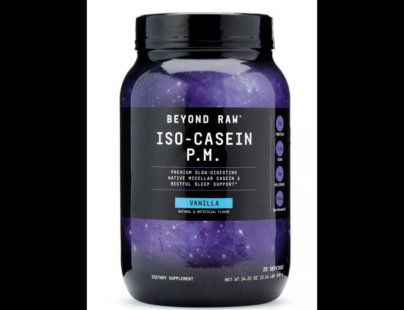 Supliment alimentar GNC Iso-Cazeina p.m. cu Aroma de Vanilie 970 g