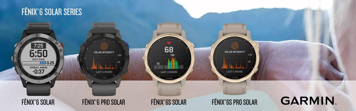 Fenix 6 Solar Series