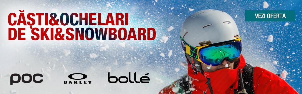 Casti si ochelari de ski & snowboard