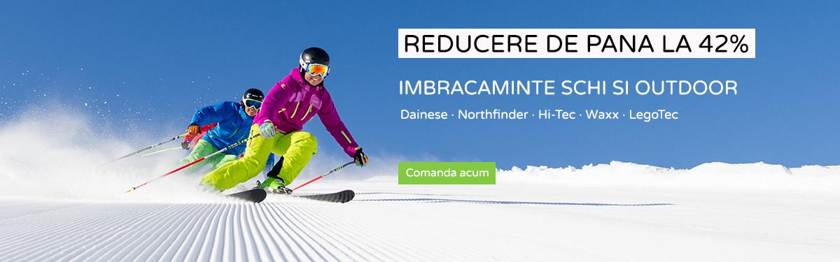 Reducere de pana la 42% imbracaminte schi si outdoor