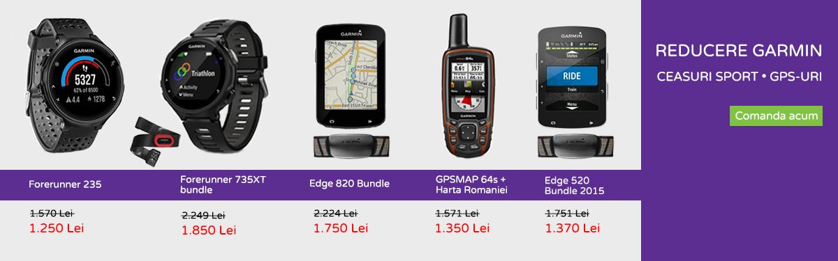 Reducere Garmin (ceasuri sport si GPS-uri)